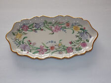 """LENOX Fine China - """"The Flower Blossom Candy Tray"""" by Suzanne Clee - 1999"""