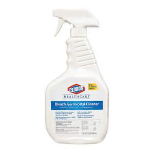 Clorox 32 oz. Healthcare Bleach Germicidal Cleaner Spray Dispatch Disinfectant