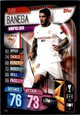 Match Attax Champions League 19/20 - Éver Banega Sevilla FC No. 238