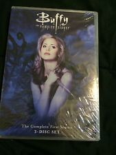 Buffy The Vampire Slayer DVD Complete First Season 3-Disc Set Sealed