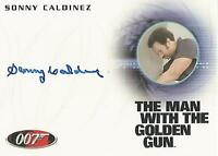 "James Bond 50th Anniversary - A184 Sonny Caldinez ""Kra"" Autograph Card"