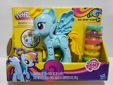 Play-Doh My Little Pony Rainbow Dash Style Salon Play Set Brand New Age 3+