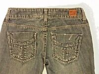American Eagle Womens Size 0 Reg 77 Straight Distressed Jeans     (C62)