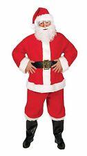 Large Santa Claus Costume Premium Suit Men's Fancy Dress Father Christmas Party