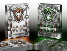 Fury & Rage Knight Playing Cards Rare Limited Custom Optical Illusion Poker Deck