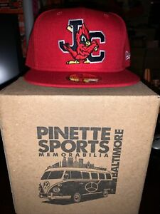 Johnson City Cardinals Home MiLB New Era 59Fifty Cap Hat Size 7 5/8 St. Louis