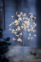 LED Garten Deko Beleuchtung Lichterbaum Lichtbaum Innen Außen Leuchtbaum Blüten