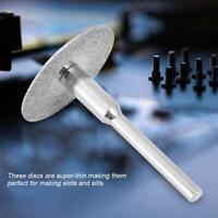 20/22/25mm 10pcs Electroplating Diamond Saw Blade Disc Cutting Wheel Rotary Tool