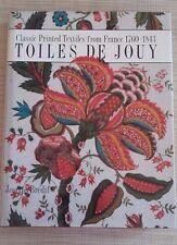 TOILLES DE JOUY - JOSETTE BREDIF - THAMES AND HUDSON - 1989