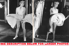MARILYN MONROE 7YR ITCH BLOWING DRESS 2xRARE5X7 PHOTOS