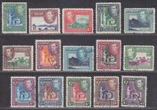 St Vincent 1938-47 King George VI Set Used SG149-159 cat £32