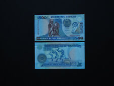 MOZAMBIQUE 500 METICAIS QUIRKY ISSUE   p134   1991   QUALITY    *  MINT UNC  *