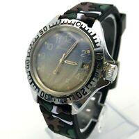 Russian Komandirskie VOSTOK Wristwatch USSR Limited MO Order Blue Gradient 1980s