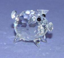 SWAROVSKI CRYSTAL Figurine SMALL PIG