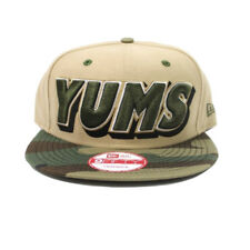 Yums Snapback Cap/Hat New Era 9Fifty One Size Fits Most Camouflage Camo