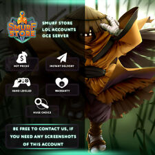 League of Legends Riot Squad Singed OCE 108 champ 93 skins BE 1262