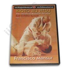 Kioto Brazilian Jiu Jitsu Defense Weapons Blades Basics #1 Dvd Mansur mma