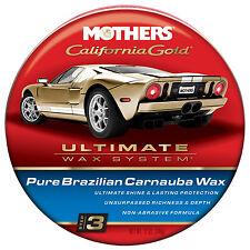 Mothers 05550 California Gold Pure Brazilian Carnauba Wax Paste  FREE SHIPPING