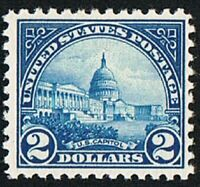 U S #572 U S Capitol $2.00 , Unused NH,  OG Nicely Centered Single