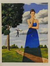 Rafal Olbinski Midsummer Marriage Hand Signed Fine Art Lithograph COA S2 Art