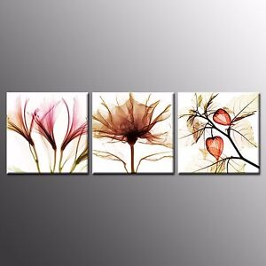 FRAMED Casvas Prints Markor flower Wall Art Paintings For  Home Decor 3pcs