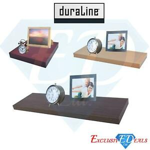 Floating Wall Shelf / Shelves 25cm, 60cm, 80cm & 120cm High Gloss Home Decor