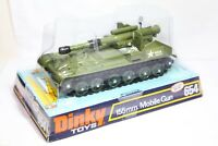 Dinky 654 155mm Mobile Gun In Its Original Box - Very Near Mint Vintage