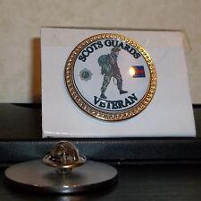 HM Armed Forces Scots Guards Veteran Lapel pin badge.
