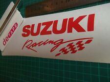 Suzuki....Racing... vinyl decal sticker .....x2