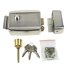 Universal Electronic Electric Door Lock for Door Intercom Access Control Sys New