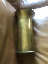 More details for bin 1917 ww1 brass shell case/vase vintage