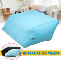 Portable Inflatable Leg Foot Support Pillow Rest Elevation Wedge Cushion Pad