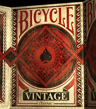 Bicycle Vintage Classic Playing Cards Deck from Murphy's Magic
