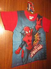 TEE SHIRT COTON NEUF 5 ANS SPIDERMAN LICENCE OFFICIELLE (vendeur pro)