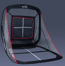 Spornia Baseball & Softball Hitting Net (5ft x 5ft) with Pitching Target