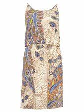25/5 NEU ONLY Damen kurzes Sommer Kleid SMART SL KNEE DRESS AOP Gr. 38 / M