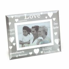Sixtrees Moments Bevelled Glass True Love 6 X 4 Landscape Picture Photo Frame