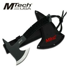 "MT-629 M-TECH USA 9"" SS COMPLETE AXE W/ BLACK CORD WRAPPED HANDLE + NYLON SHEATH"