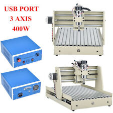 3040 USB 3 Axis 400W CNC Router Engraver Engraving Machine Mill Cutter + Control