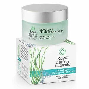 Kaya Clinic Seaweed & Polyglutamic Acid, Skin Hydrating Night Mask Face Gel, 50g