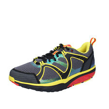 mens shoes MBT 8 (EU 42) sneakers grey multicolor textile dynamic BX892-42
