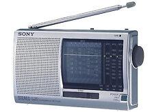 New SONY ICF-SW11 Shortwave Radio FM Stereo MW LM SW (1-9) 12-Band Receiver