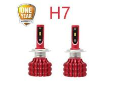 2 x H7 LED CREE Headlight Bulb Kit High Low Beam SUPER BRIGHT 6000K White