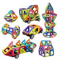 DIY Magnetic Tiles magnetic Building Blocks Toys for Kids Educational Block Lot