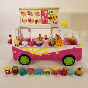 Shopkins Food Fair Ice Cream Truck + 25 Shopkins figures