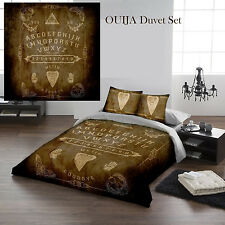 OUIJA BOARD PARCHMENT - Duvet Cover Set for UK KING / US QUEENSIZE BED