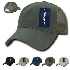 1 Dozen Decky Cotton Relaxed Trucker Baseball Caps Hats  Wholesale Bulk