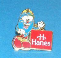 ATLANTA 1996 Olympic Collectible Sponsor Pin - Hanes feat Mascot Izzy