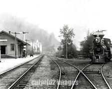 1905 SPRR Drain Oregon Railroad DEPOT Siskiyou Line Pho