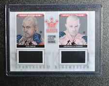 2012 Sportkings E Dual Memorabilia Georges St. Pierre & Tito Ortiz UFC 100
